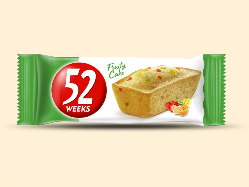 52 Weeks Fruit Cake